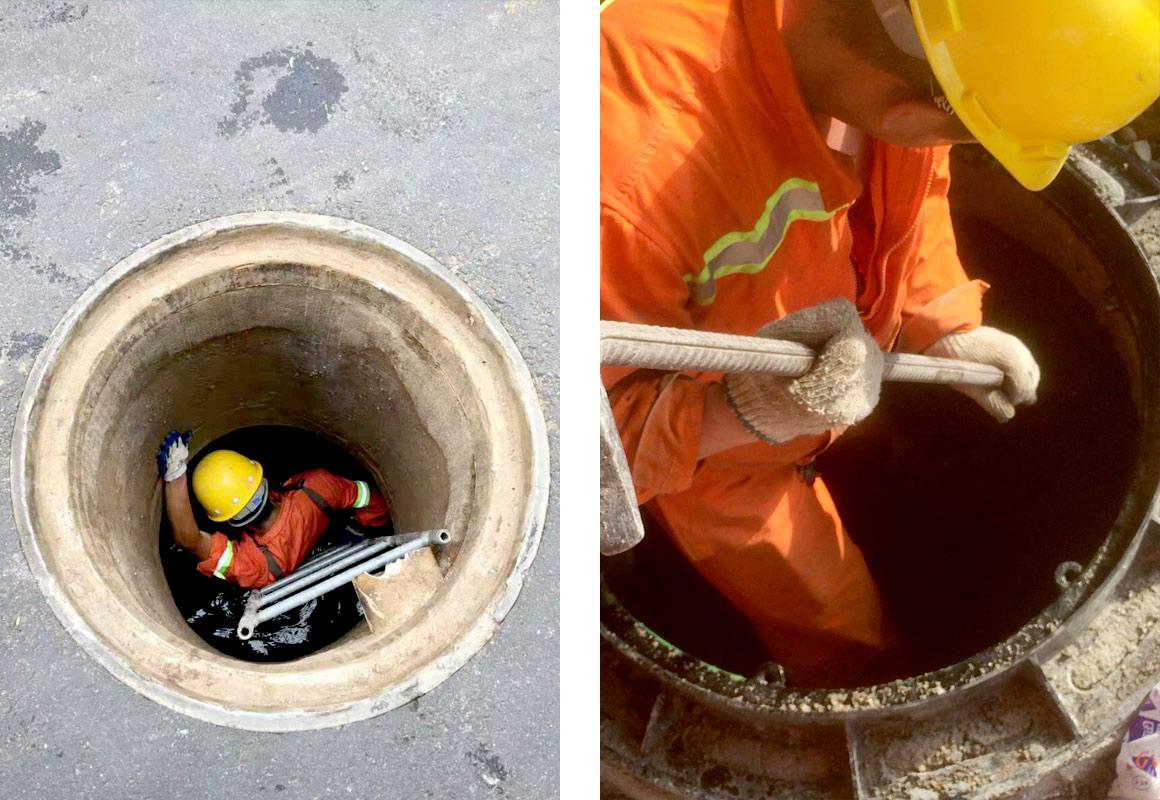 排污管道系统维护
