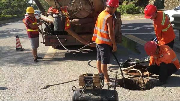 市政管道疏通清淤的方法及流程介绍