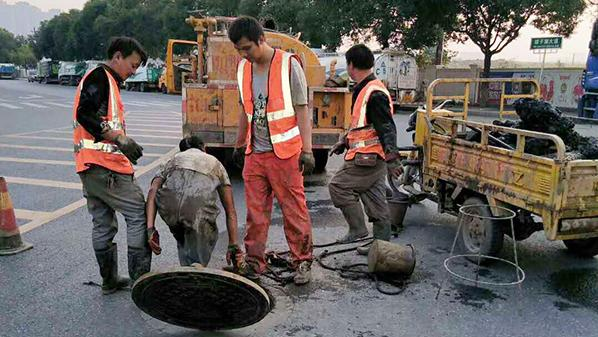 市政排水管道疏通的方法