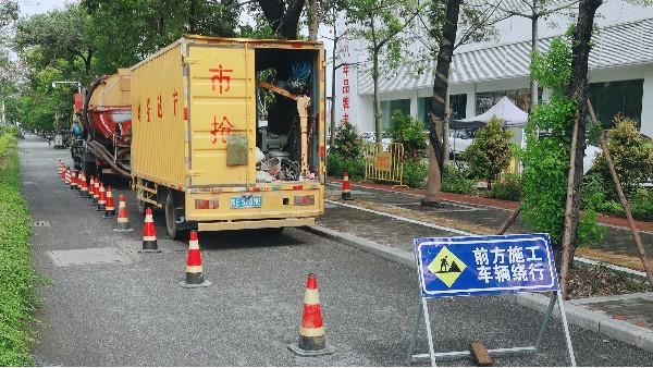管道疏通清淤在排管时的几点注意事项