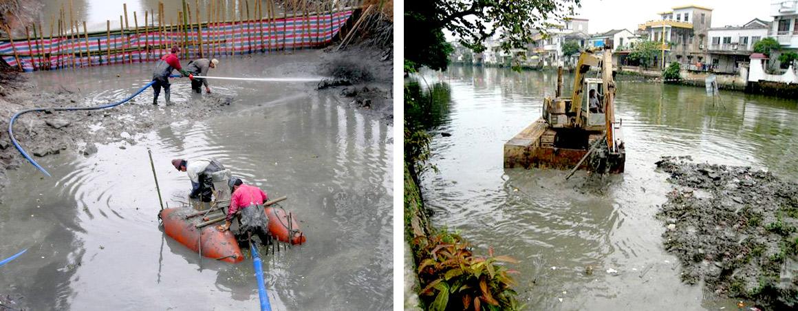 河道清淤疏通