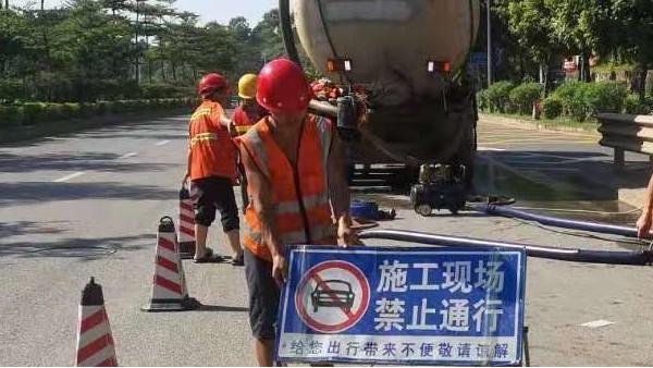 市政管道清淤工序流程