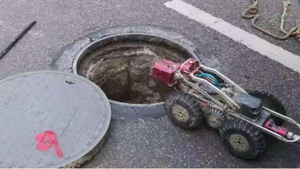 地下管道检测机器人组成以及工作原理
