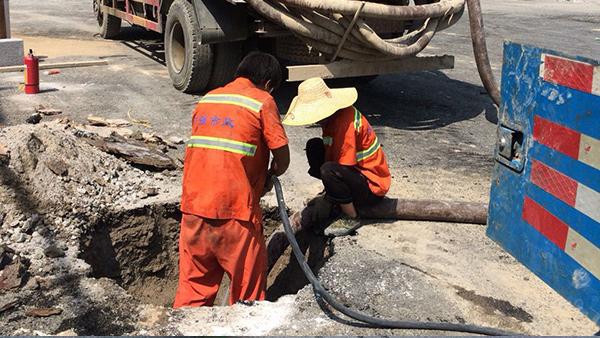 城市排水管道疏通清洗