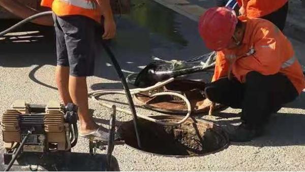 排污管道疏通清淤流程